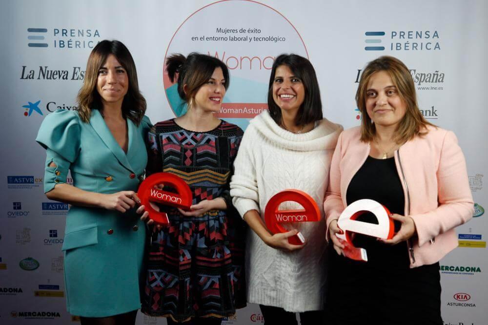 Entrega de los premios eWoman Asturias