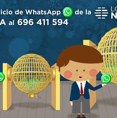 Lotería Navidad por whatsapp