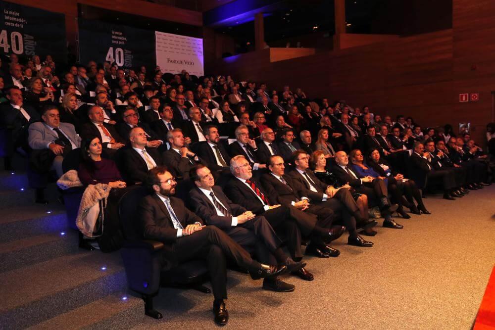 Faro de Vigo 40 aniversario auditorio