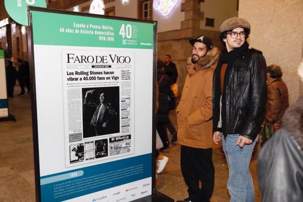 Faro de Vigo 40 Aniversario exposición principe