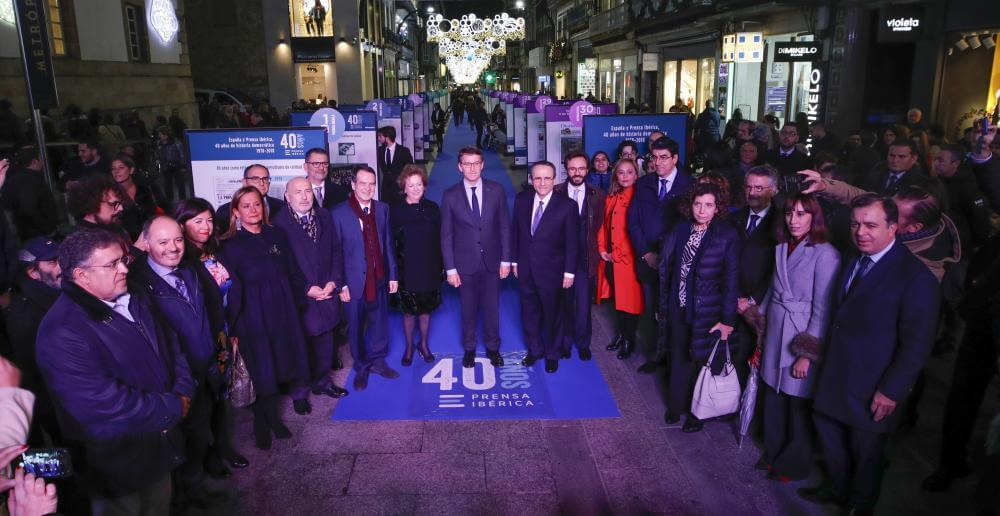 40 Aniversario de Prensa Ibérica desembarca en Vigo