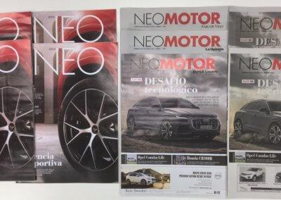 Neomotor y Neo. El suplemento y revista del motor de Prensa Ibérica