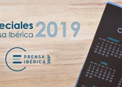 Calendario Especiales Multimedia 2019