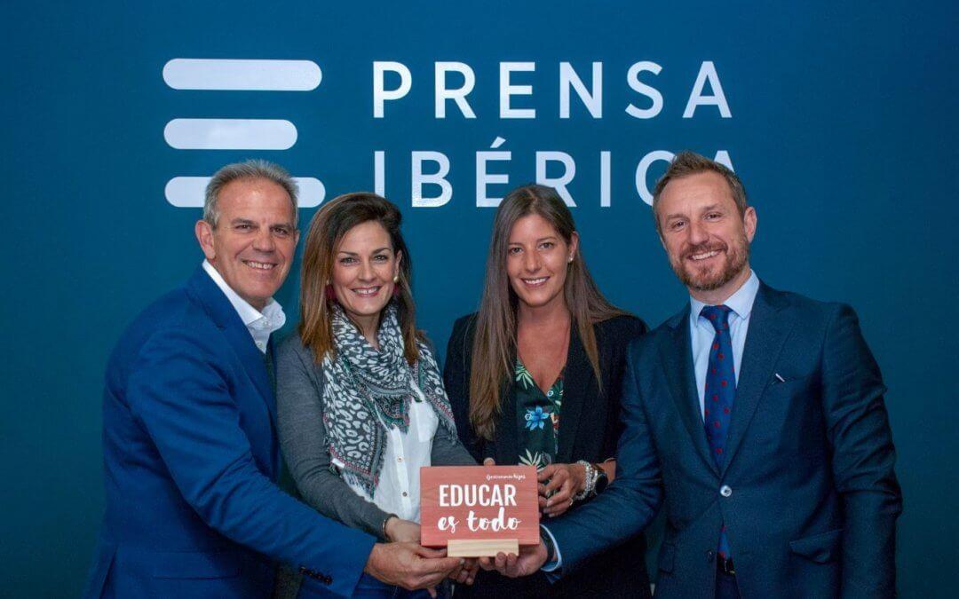 Prensa Ibérica y Educar es Todo firman un acuerdo para crear el  Tour Gestionando Hijos