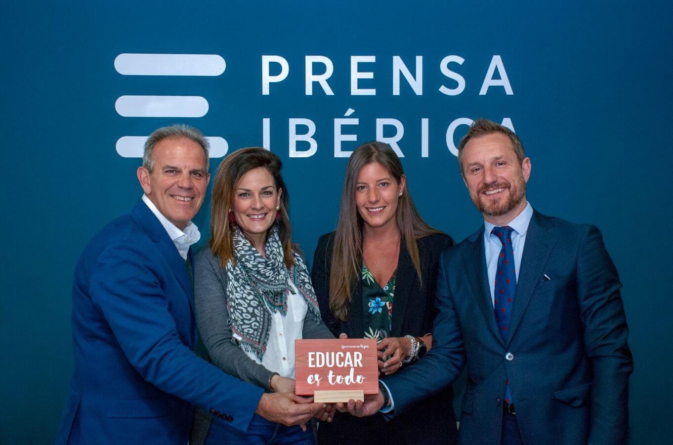 Prensa Ibérica y Gestionando Hijos