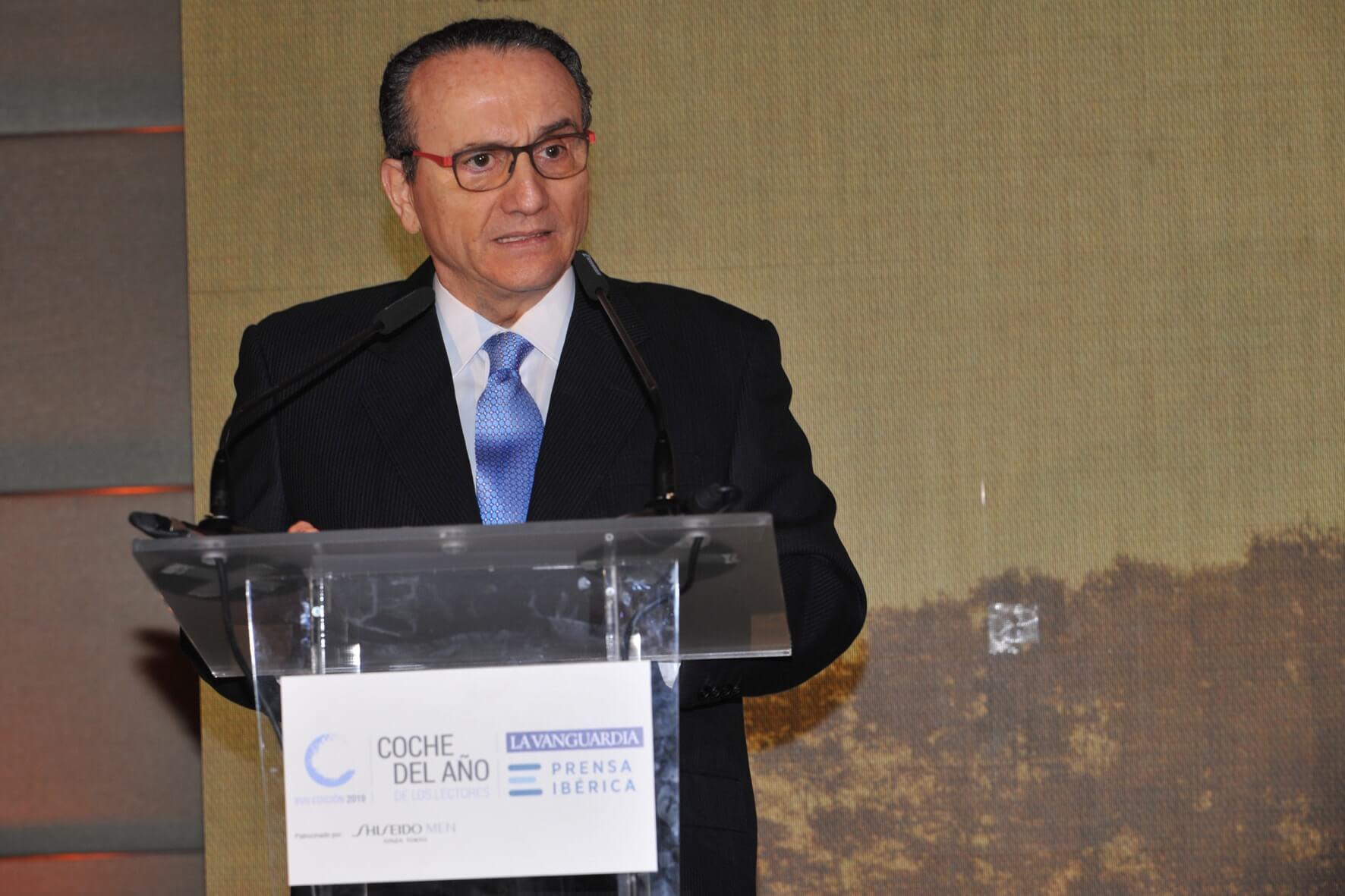 Javier Moll en Coche del año 2019