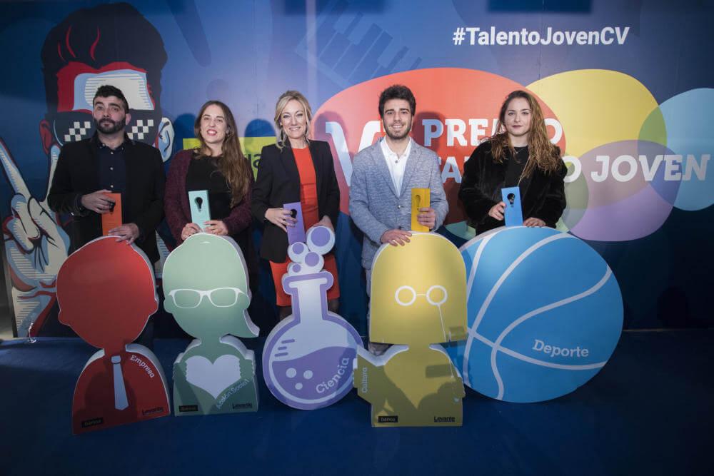 Levante-EMV y Bankia entregan los galardones de Premio Talento Joven