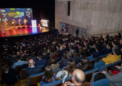Acutación musical Ñekü en Talento Joven 2019