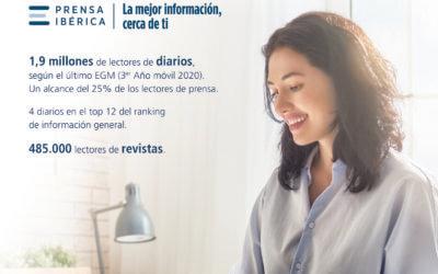 Prensa Ibérica supera los 2,3 millones de lectores