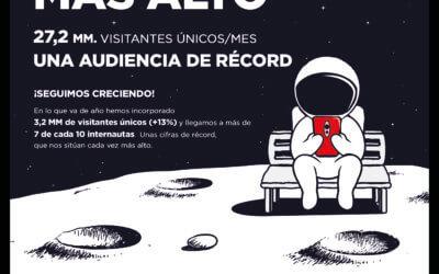 Prensa Ibérica cada vez más alto