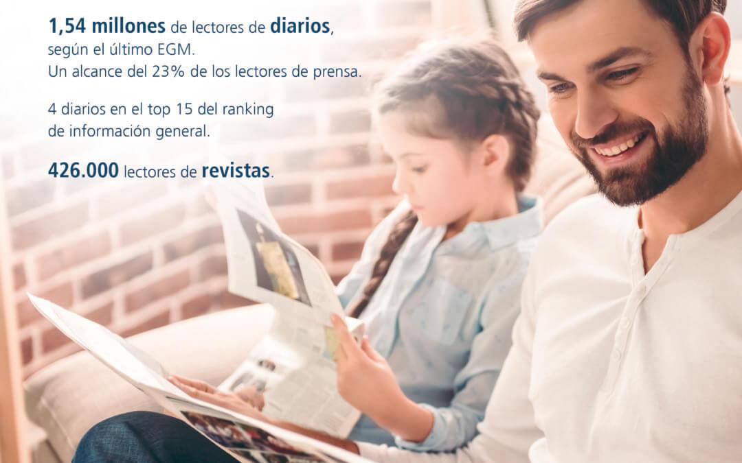 2 millones de lectores eligen Prensa Ibérica